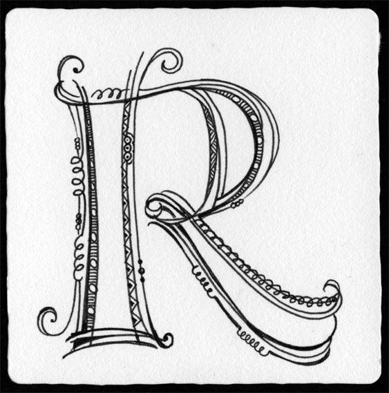"""Beim Turnbeutel das """"R"""""""
