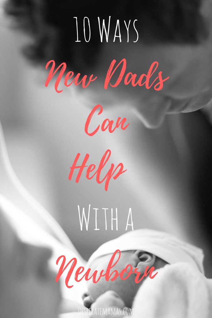Ever wondered how your partner can help with your newborn? This list will definitely give you some great ideas