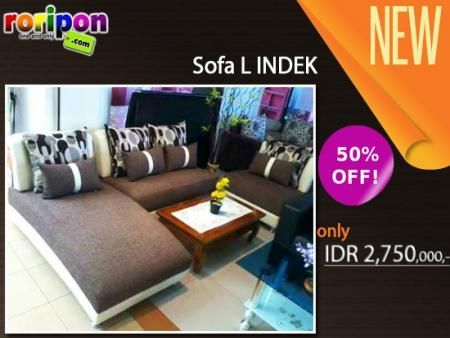 [ 50% Discount ] Decorate Your Home With Perfect Appliances. Modern Exclusive Sofa From Surabaya Sofa Offer 50% Great Sale. Start From Idr 2,300,000,- Only At www.roripon.com