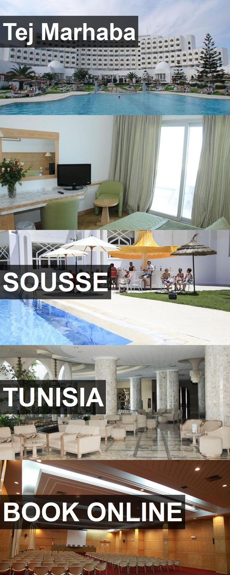 Hotel Tej Marhaba in Sousse, Tunisia. For more information, photos, reviews and best prices please follow the link. #Tunisia #Sousse #TejMarhaba #hotel #travel #vacation
