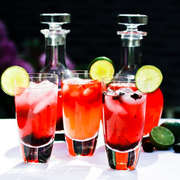 Berry Blast Nimbu Pani #beverage #drinks #Indian