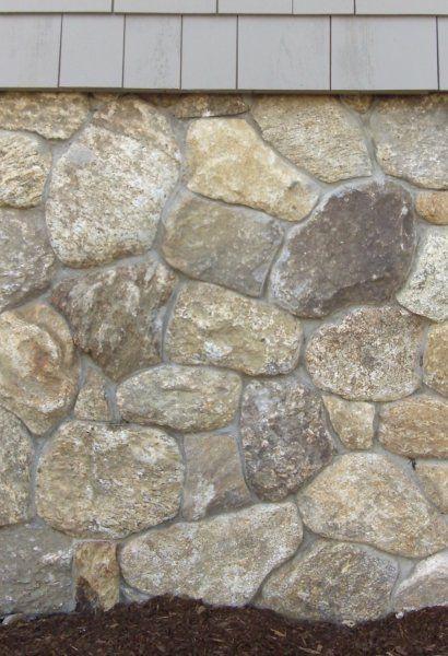 Round Veneer  Columns  Siding  Foundation  Ehwa Stone Masonry  Boston Blend  Gardening in