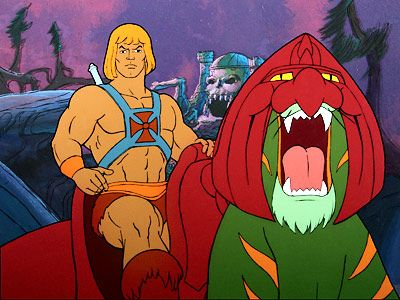 When I wasn't outside or playing Barbie, I was probably watching He-Man. I did have two older brothers...
