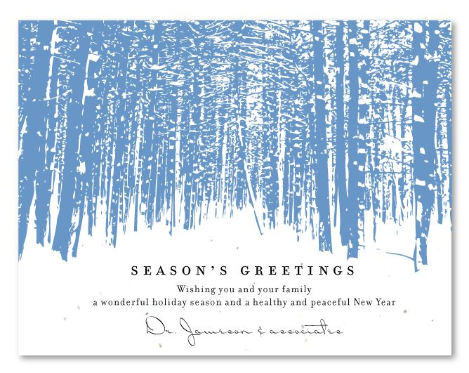 82 best holiday cards images on pinterest holiday cards christmas aspen forest plantable corporate holiday cardsbusiness holiday cardsholiday greeting m4hsunfo