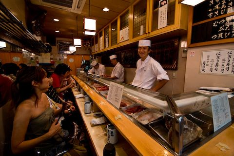 Sushi Dai@Tsukiji fish market  寿司大