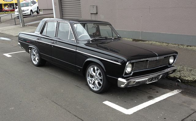 1967 Chrysler Valiant VC.  I love the imperials and Newports of the mid sixties.  This looks like a compact car version of those giant beauties.  Another awesome Aussie car.