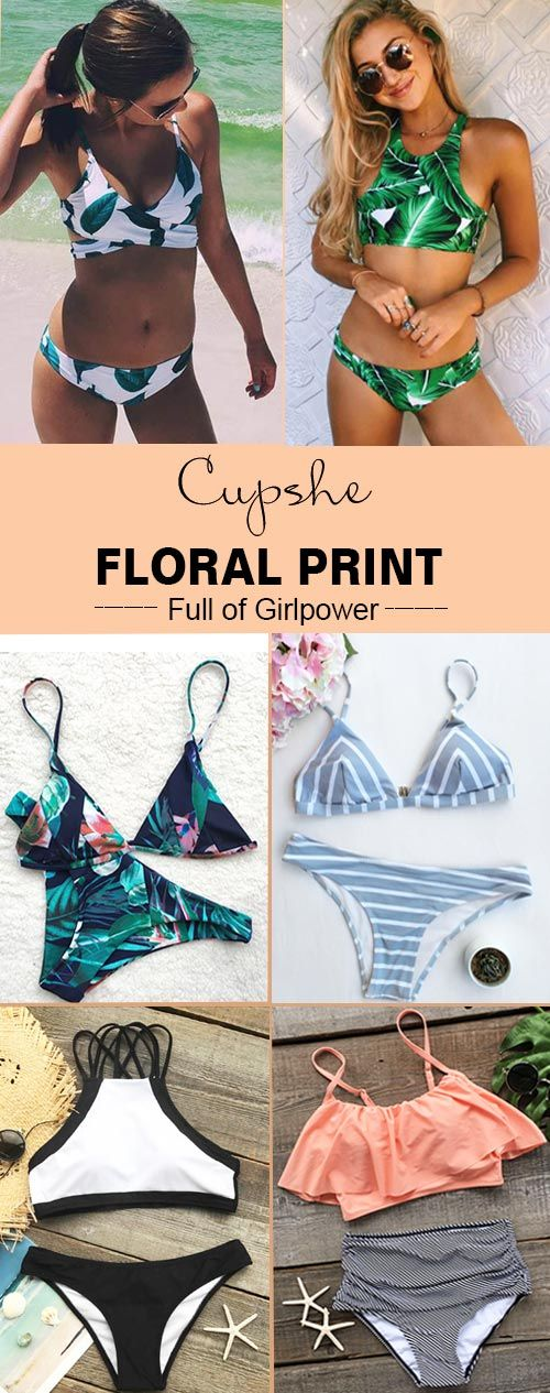 Hit the beach with hottest selling bathing suits from Cupshe. Discover super-cute designs, perfect fits and a whole range of styles to take your beach days to the next level. Enjoy FREE shipping~