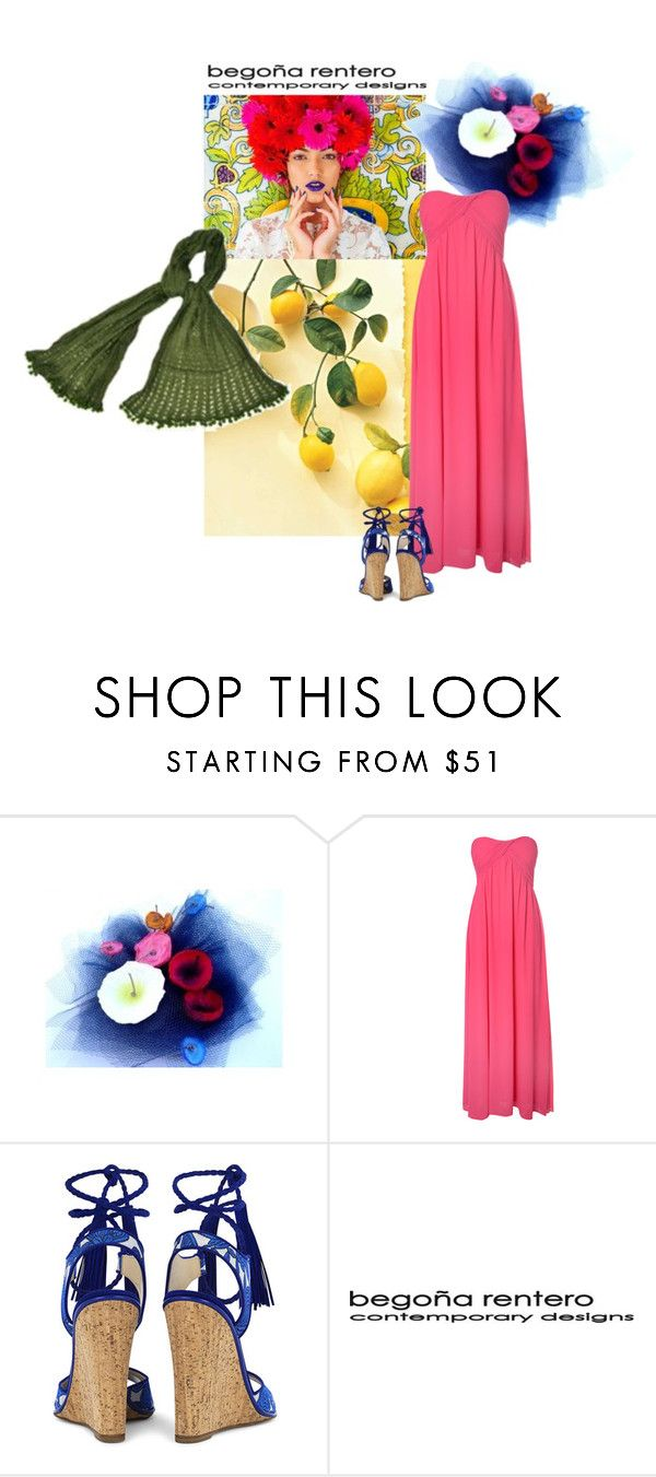 """""""Summer Flower"""" by renterodesigns on Polyvore featuring moda, Glamorous y Paul Andrew"""