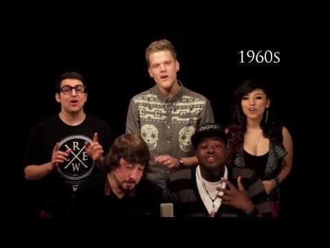 LOVE this - great to into or sum up a unit on the history of music!!!   Evolution of Music - Pentatonix - YouTube