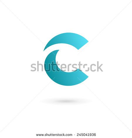 Letter C logo icon design template elements - stock vector