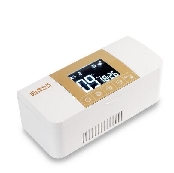 (119.00$)  Buy here  - Mini Cooler Box Insulina. Pode ser carregado de Viagem Insulina Caixa De Armazenamento a Frio. Aquecimento E Arrefecimento Acomo