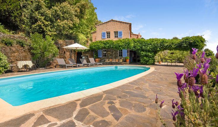La Garde Freinet  VillaMatch pool with view villa