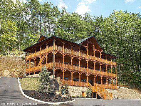 Gatlinburg Cabin Rental Quot Mountaintop Mansion Quot 9 Bedroom