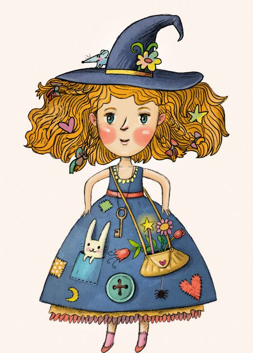 Little witch book on Behance