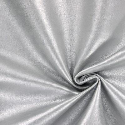 Imitace usně napa 14 - Polyuretan - Polyester - stříbrná