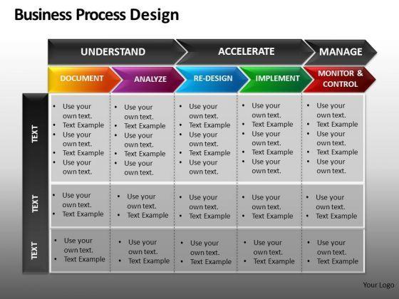PowerPoint Process Flow Chart - PowerPoint Diagram