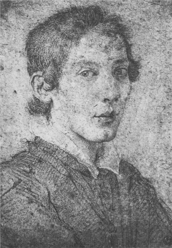 best beautiful faces images portrait draw  portrait of a young man self portrait 1615 gian lorenzo bernini