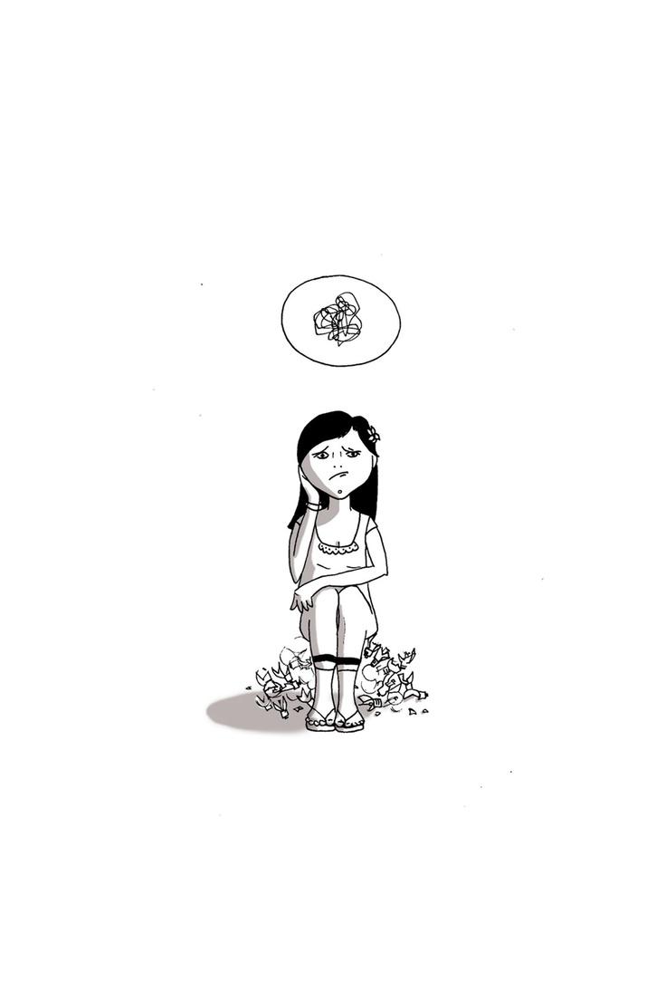 Postcard  'NO'   { No idea }  #Vectorial illustration