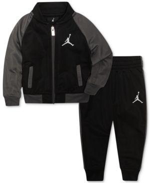 8752657af Jordan 2-Pc. Activewear Jacket   Pants Set
