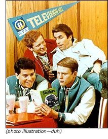 1970's TV Shows | Happy Days, every Tuesday  night...