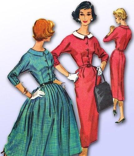 suknia lata 50