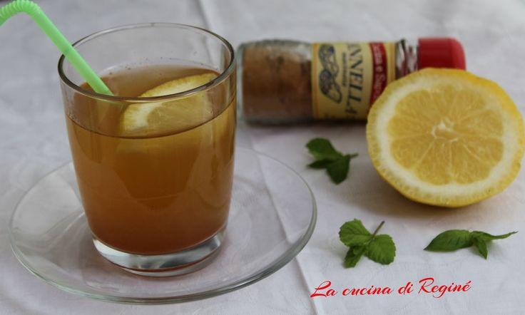 Tisana cannella e limone una bevanda dalle molteplici proprietà tra cui la riduzione del peso e il senso di sazietà, inoltre ottimo drenante
