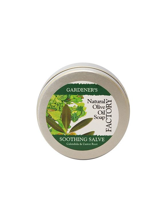 Need a solution to dry, cracked skin? Look no further than our Gardener's Soothing Salve #naturalskincare #gardeninghands