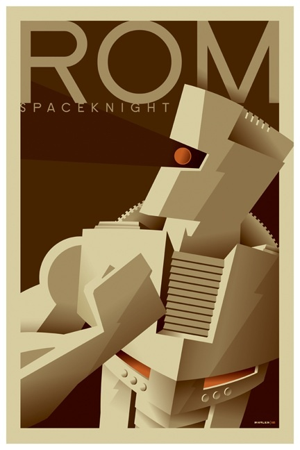 Rom the space knight minimal (avec images) Art déco