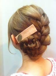 編み込み まとめ髪 - Google 検索