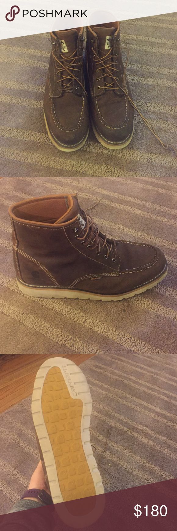 Carthartt men's boots Worn a handful of times-like new. Price is firm Carhartt Shoes Boots