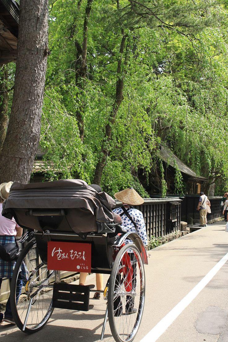 別名「みちのくの小京都」!新緑に囲まれた武家屋敷通り