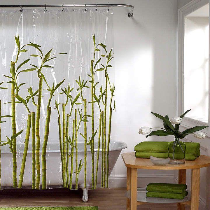 Jcpenney Maytex Mills Maytex Bamboo Peva Shower Curtain Vinyl