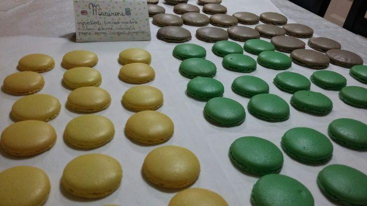 Macarons in preparazione