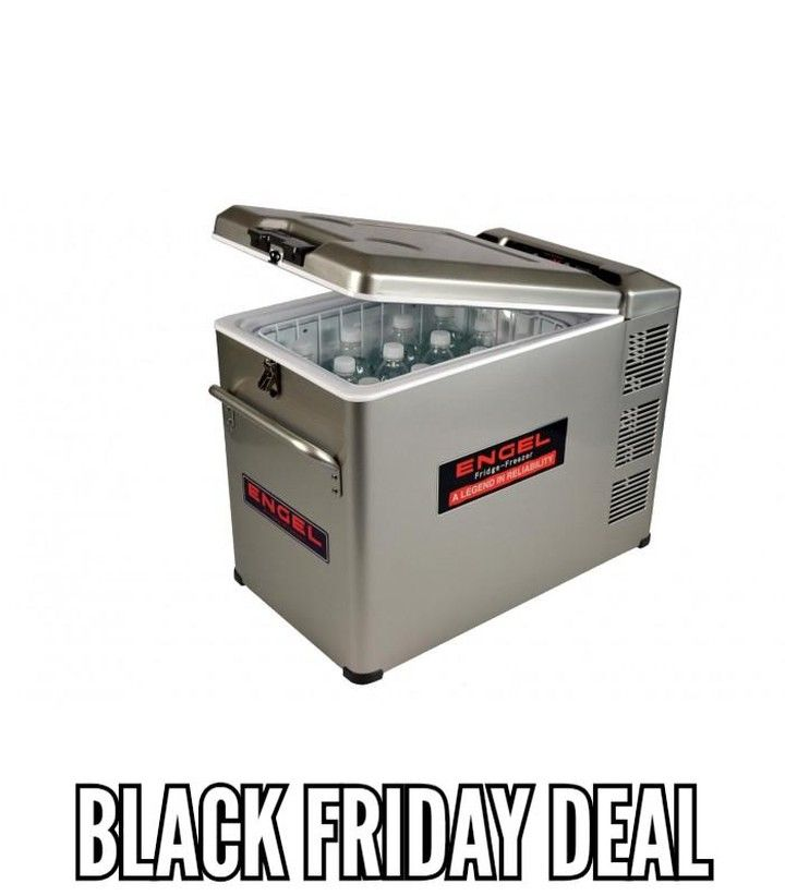 Black Friday Special Your Black Friday Deals At 4x4 Mega World Get Your 40 Litre Engel For Only R7 In 2020 Portable Fridge Outdoor Storage Box Black Friday Special