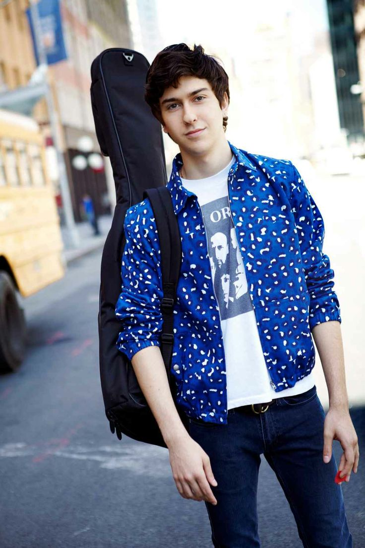 Nat Wolff Pictures And Interview - Male Fashion.... Just gonna. Put. This. Hereee... Oh my gosh. I'm seriously in LOVE with him as Isaac. :)