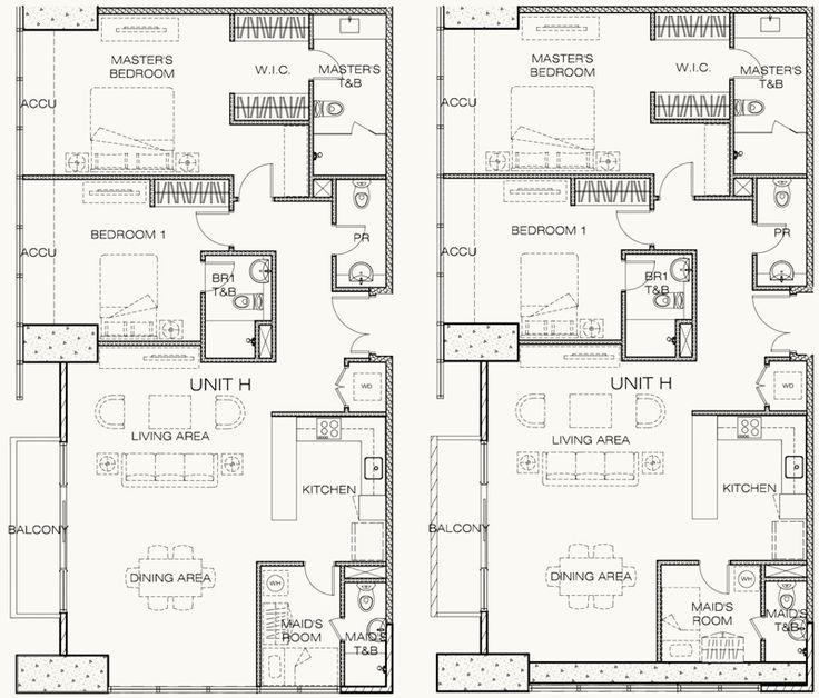 9 best west gallery place unit floor plans images on for 4 unit condo plans
