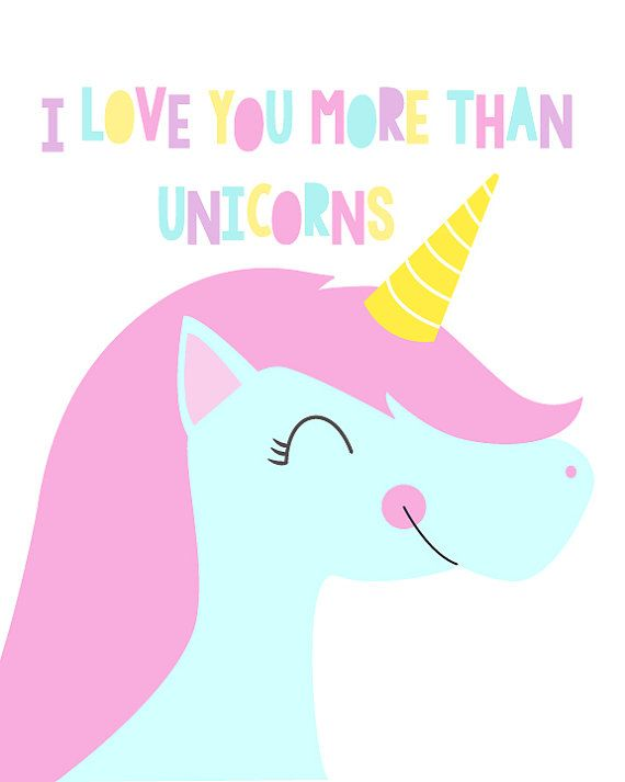 This unicorn art is a sweet little digital print to hang in your babys nursery. It features a pink and blue unicorn illustration and says, I love you more than unicorns. A constant reminder to your baby girl of just how much she means to you! ⎯⎯⎯⎯⎯⎯⎯⎯⎯⎯⎯⎯⎯⎯⎯⎯⎯⎯⎯⎯⎯⎯⎯⎯⎯⎯ Size: 8x10 inches DELIVERY: This is a digital listing only, so please note that no physical item will be mailed ⎯⎯⎯⎯⎯⎯⎯⎯⎯⎯⎯⎯⎯⎯⎯⎯⎯⎯⎯⎯⎯⎯⎯⎯⎯⎯ ●View ALL PRINTS: http://etsy.me/1Gt5bdo ●View all TYPOGRAPHY PRINTS…