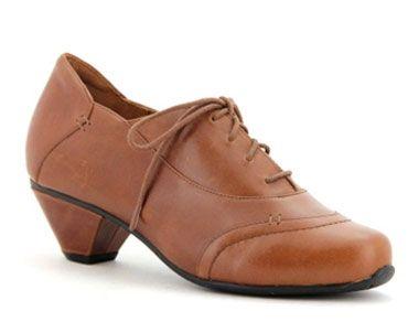 Elin Women's Shoe - Lace Up  the heel height is 30mm.