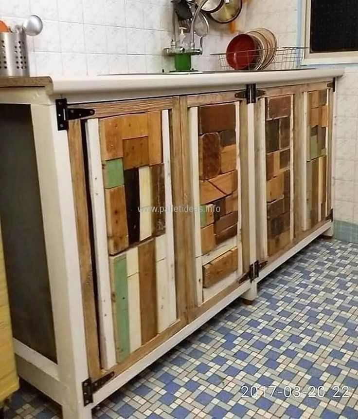 Best 25+ Pallet Kitchen Cabinets Ideas That You Will Like On Pinterest