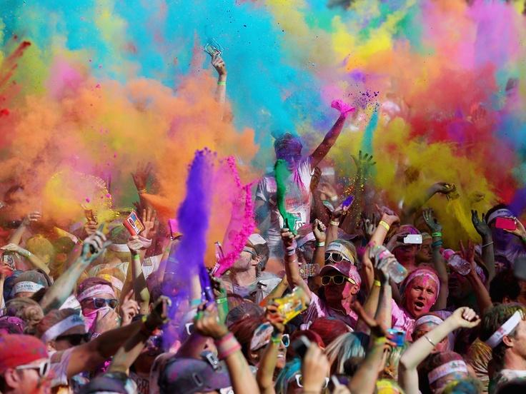 5km colour run