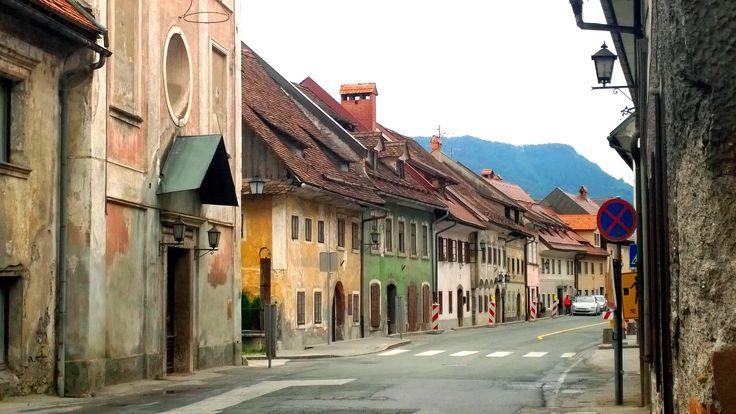 Skofja Loka - oldest town in Slovenia.