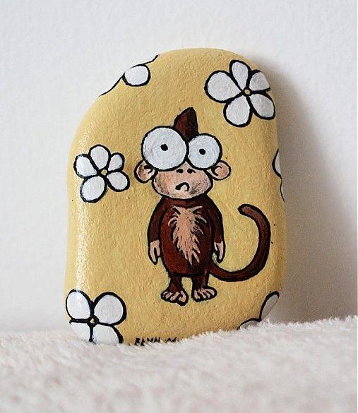 Veselá opička :) by -ELYN- - SAShE.sk - Handmade Drobnosti