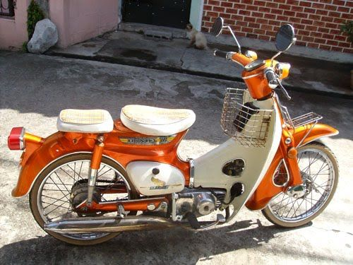 Honda C70 Classic Motorcycle - Amazing Custom Cub