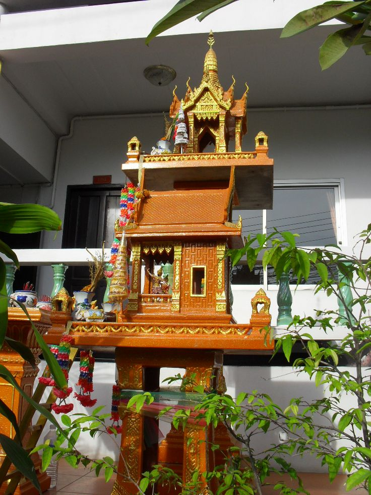 10 Best Images About Thai Spirit Houses On Pinterest