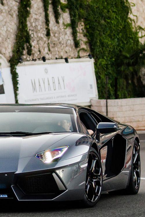 Grigio estoque Lamborghini  Aventador- ♔LadyLuxuryDesigns♔