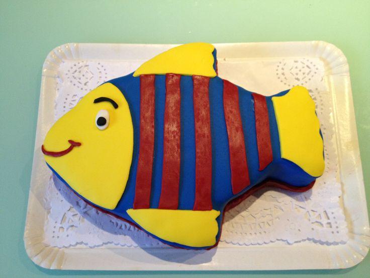 Tropical fish cake