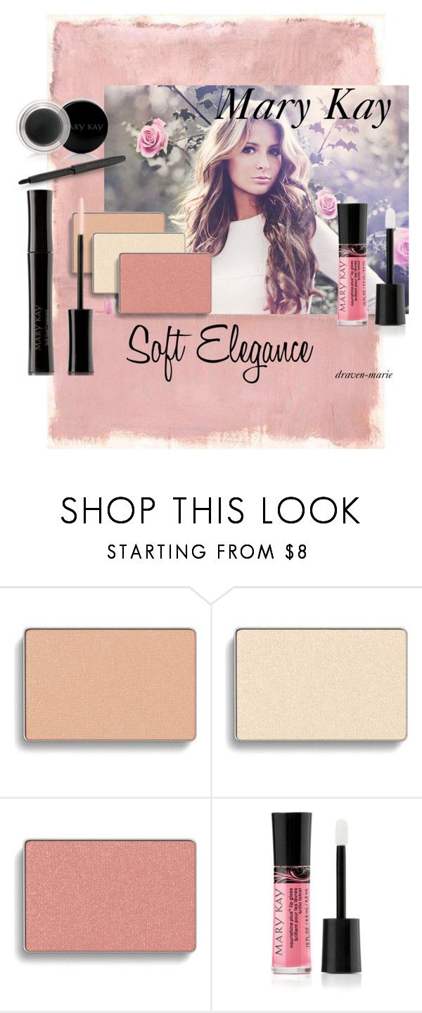 Soft Elegance- Mary Kay- Draven Howard by draven-marie on Polyvore featuring beauty, Mary Kay and Rothko A soft beautiful look that shows off your feminine side    marykay.com/dravenxxmarie   Beauty Consultant: Draven Howard State: Indiana