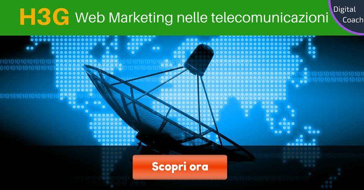 Come sfruttare il web nelmercato delle telecomunicazioniper ottenere nuovi clienti? Leggi l'intervista a Sabrina De Prisco Web Marketing Manager di H3G.