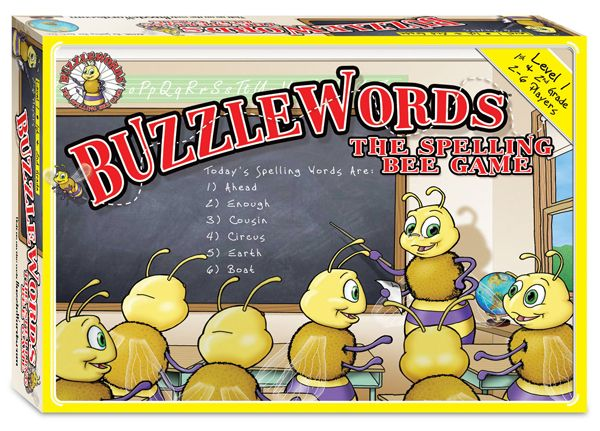 Buzzlewords: The Spelling Bee Game Level 1   Main photo (Cover)