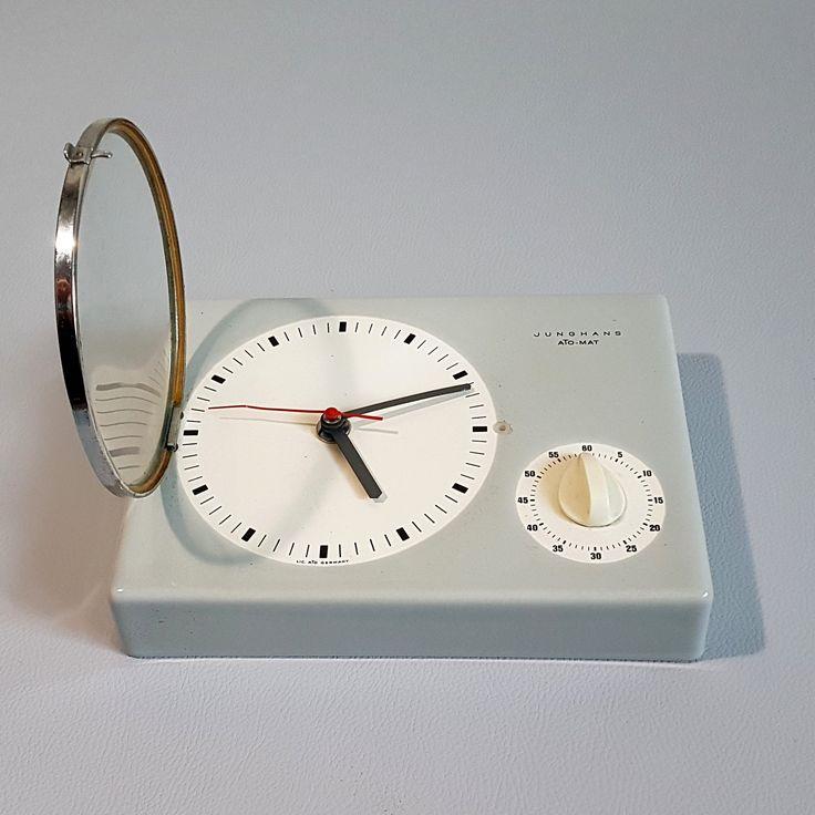 Ceramiczny zegar Jughans, Niemcy, lata 70.   Ceramic clock, Jughans, Germany, 70s.   buy on Patyna.pl  #clock #zegar #ceramic #Jughans #Germany #70s #1970s #German #time #electronics #retro #vintage #vintagelove #inspiration #decoration